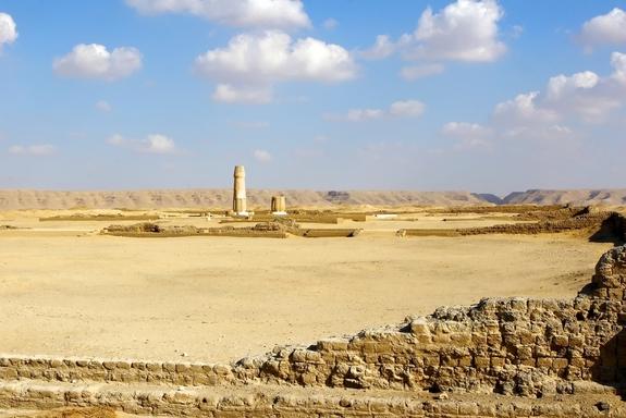 Thành phố cổ Amarna, Ai Cập. Ảnh minh họa