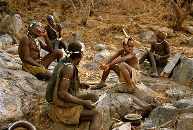 Bộ tộc Hadzaại sống tại miền trung Tanzania