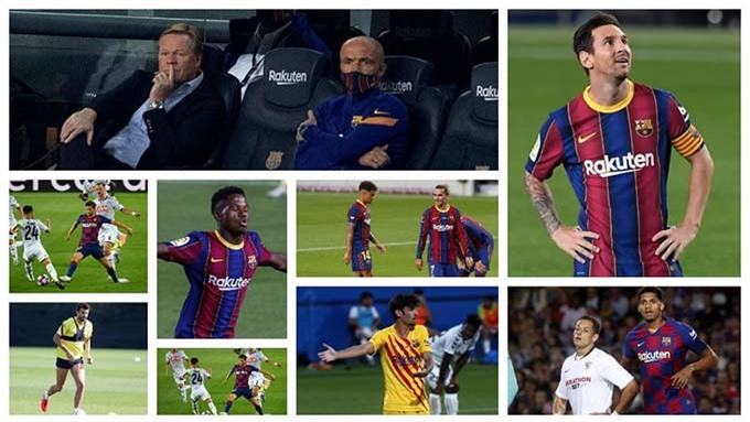 Barca đang có hàng loạt vấn đề cần giải quyết