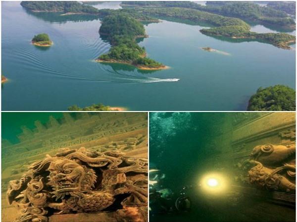 Bí ẩn về 'thành phố sư tử' hàng ngàn năm tuổi nằm dưới lòng hồ