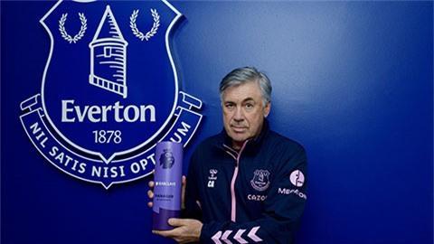 Everton nhận cú đúp giải thưởng ở Premier League