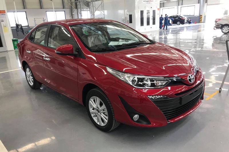 1. Toyota Vios (doanh số: 2.912 chiếc). Ảnh: Toyota Bắc Ninh.