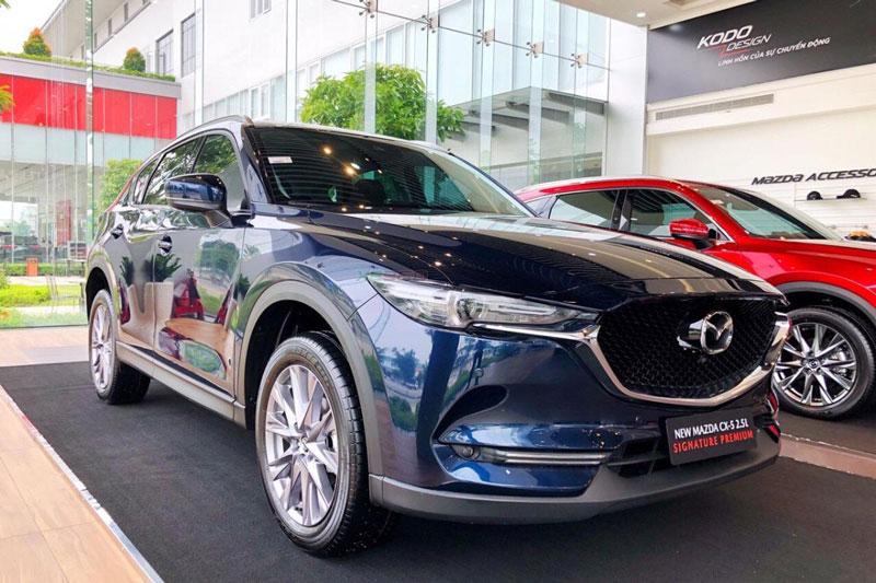 10. Mazda CX-5 (doanh số: 1.267 chiếc). Ảnh: Mazda Trường Chinh.