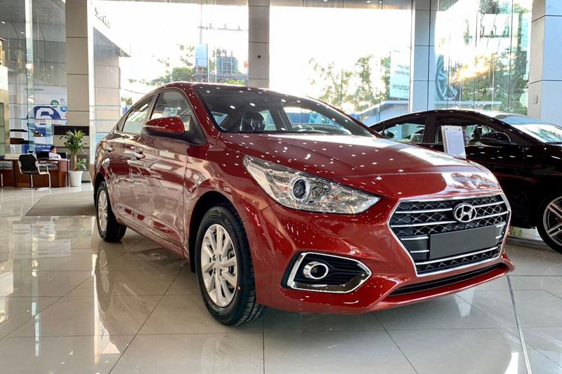 2. Hyundai Accent (doanh số: 1.817 chiếc). Ảnh: Hyundai Hà Đông.
