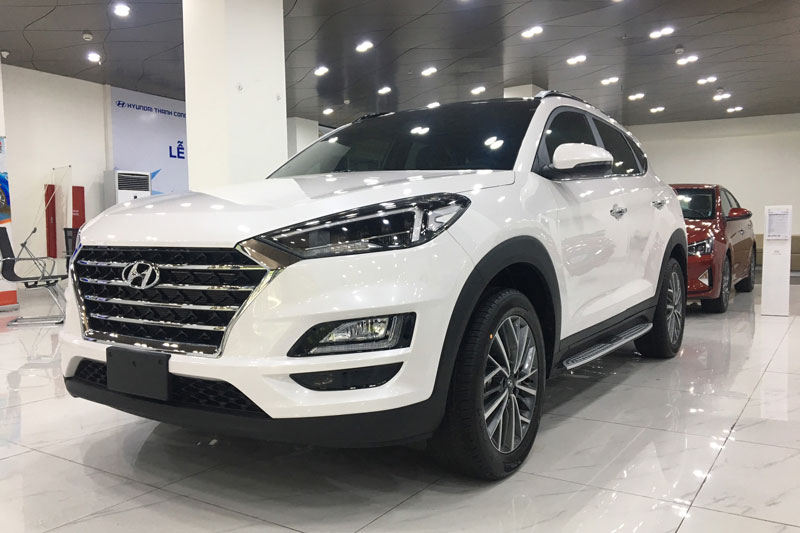 3. Hyundai Tucson (doanh số: 1.671 chiếc). Ảnh: Hyundai Long Biên.