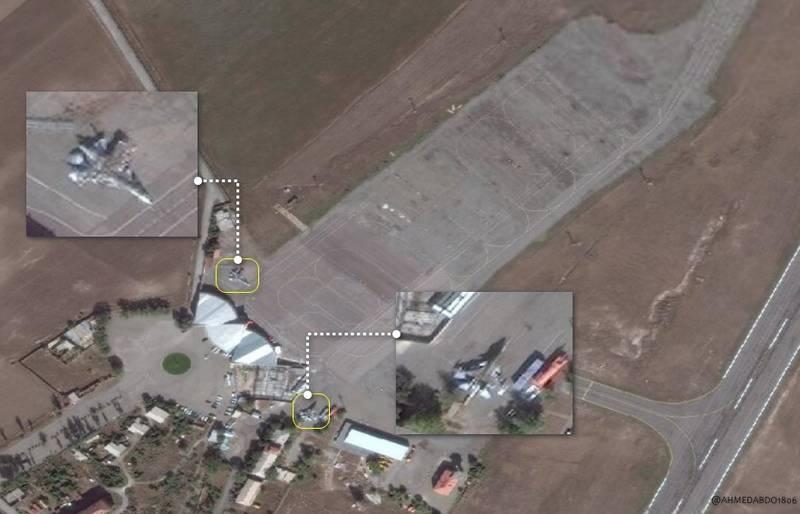 Tiêm kích Su-30SM của Armenia đã có mặt tại sân bay Shirak ở Gyumri. Ảnh: TASS.