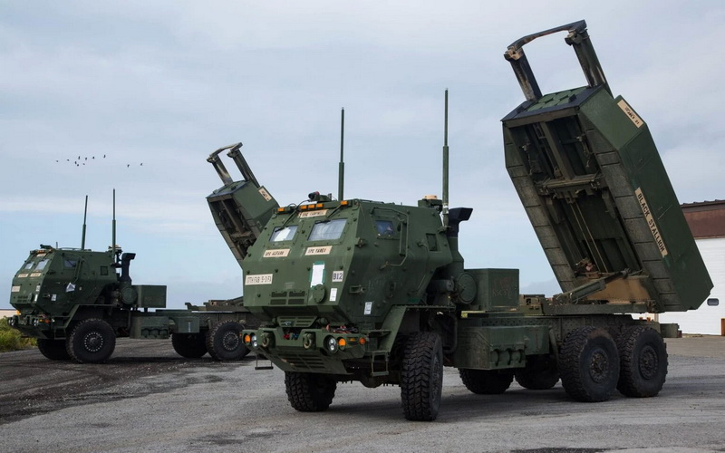 Tổ hợp pháo phản lực dẫn đường tiên tiến M142 HIMARS. Ảnh: Lockheed Martin.
