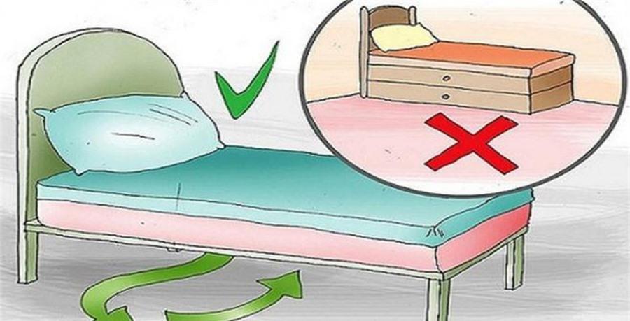 Đặt hòm kho báu dưới gầm giường hút lộc vào nhà