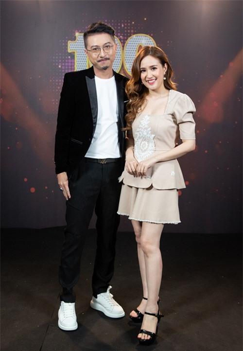 Hứa Minh Đạt (trái) và Phương Hằng.