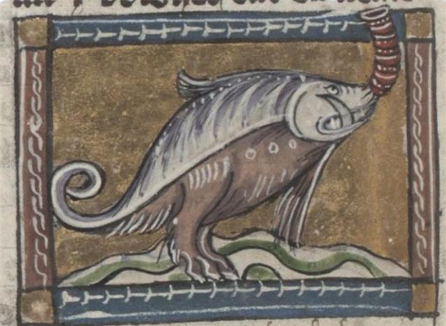 Khi họa sĩ thời Trung Cổ trổ tài vẽ lại động vật qua lời kể, con nào cũng sai trái hết hồn luôn - Ảnh 2.