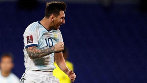 Messi sắp vượt mặt Pele đi vào lịch sử bóng đá Nam Mỹ