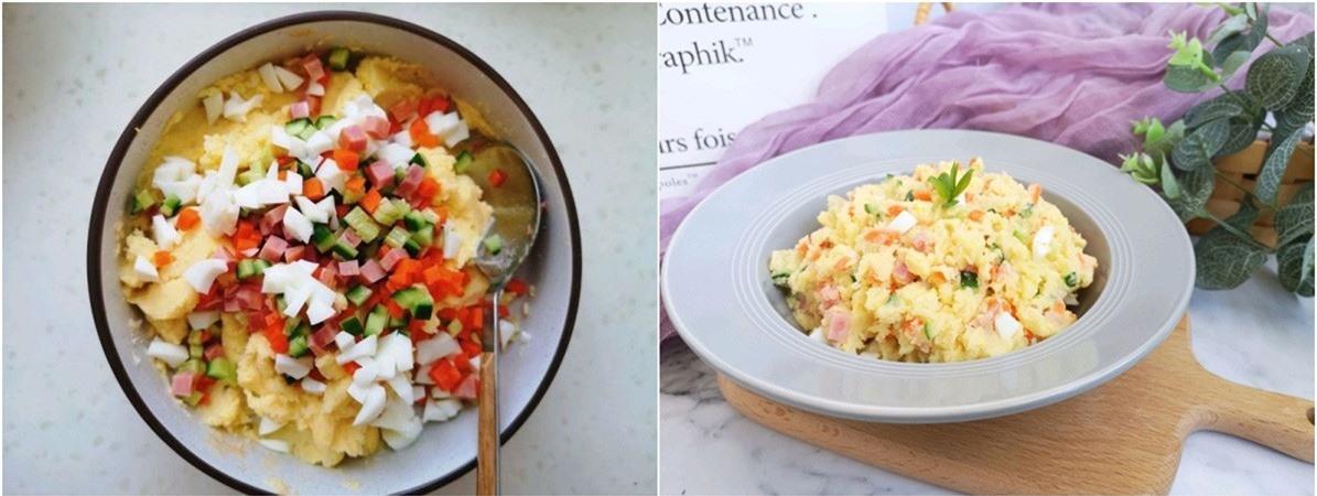 Bữa tối giảm cân ngon miệng với salad khoai tây - Ảnh 5.