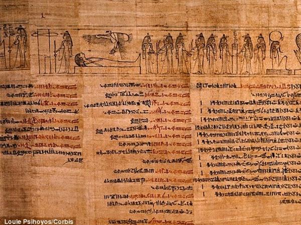 Hiện tượng bí ẩn Kinh thánh được chứa trong lớp mặt nạ xác ướp