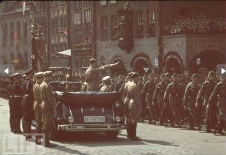 """Chùm ảnh: Hitler thời """"hoàng kim"""" - 2"""