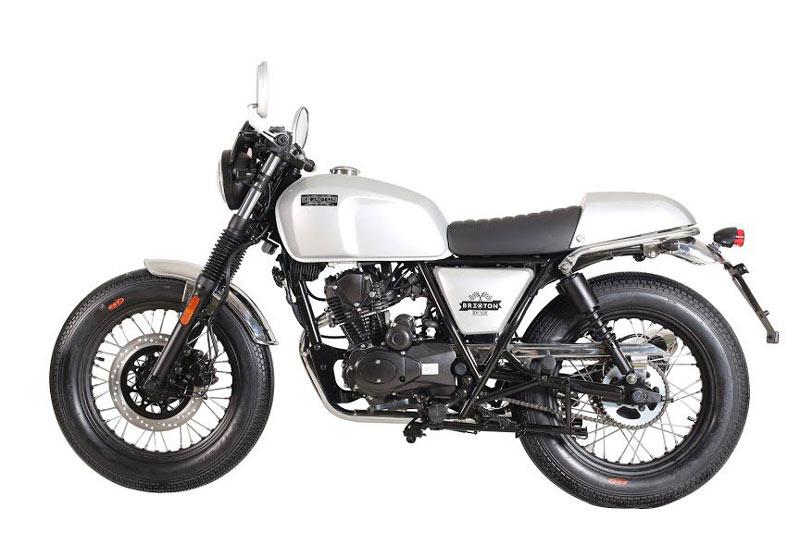 Brixton BX Cafe Racer 125cc.