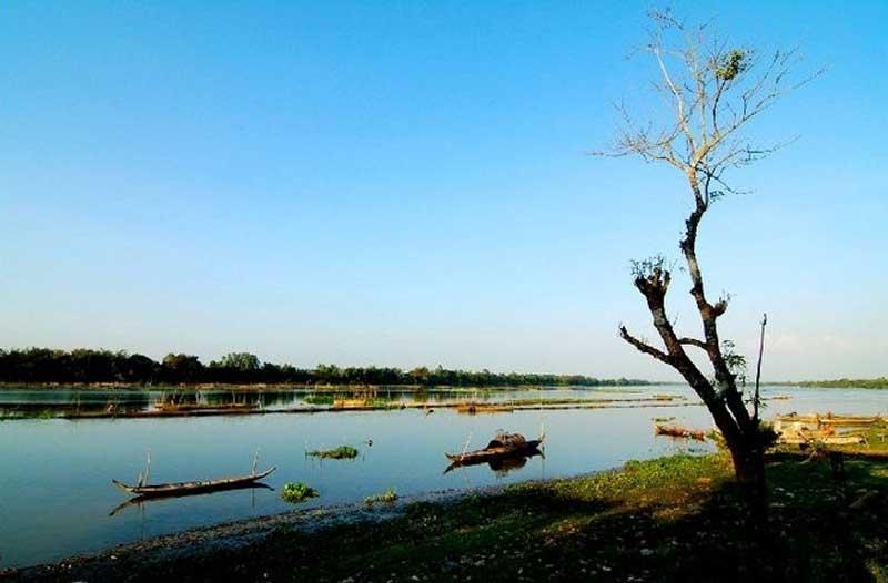 Búng Bình Thiên được coi là một trong những hồ nước ngọt lớn nhất miền Tây Nam Bộ. Ảnh: Huynh Phuc Hau.