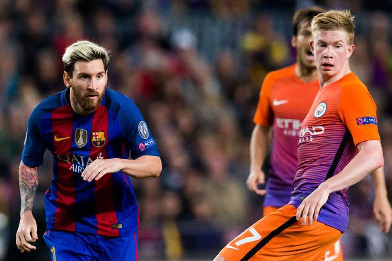 Nc247info tổng hợp: De Bruyne tuyên bố Man City không cần Messi
