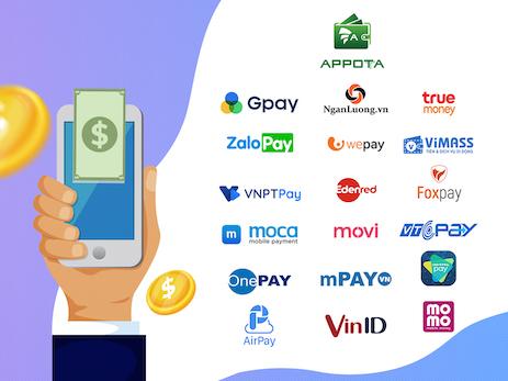 AppotaPay chính thức tham gia vào cuộc đua ví điện tử tại Việt Nam.