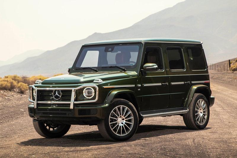 2. Mercedes Benz G-Class.