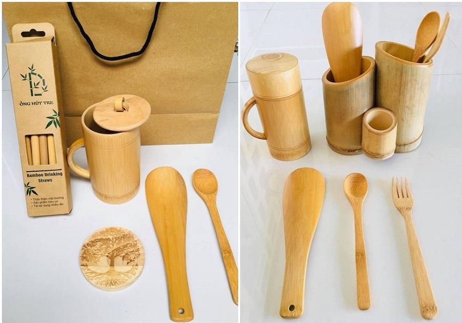 Những sản phầm nhỏ nhắn, dễ thương được làm từ tre nữa của Đà Lạt Bamboo