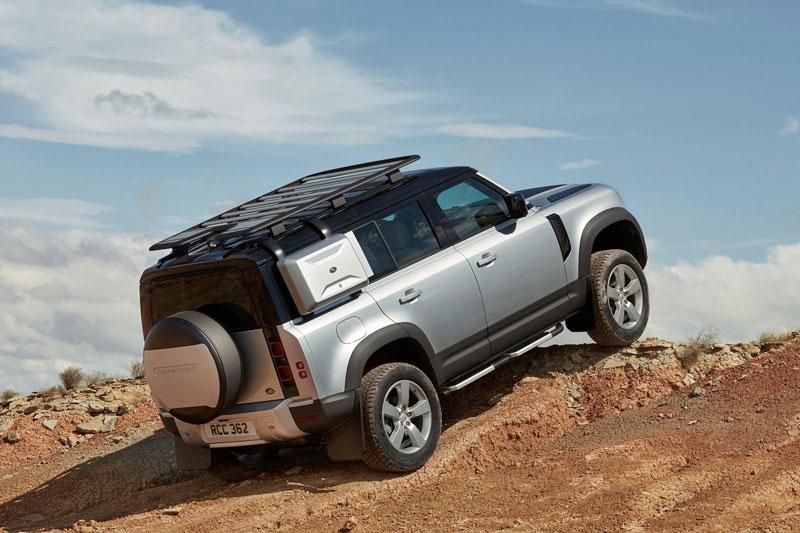 3. Land Rover Defender.