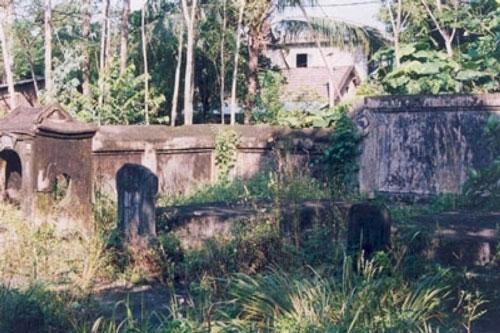 Khu lăng mộ của công chúa Mai Am ở thành phố Huế.