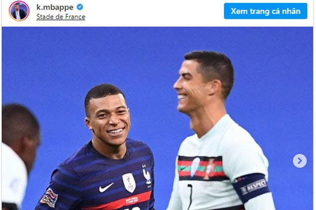 Mbappe và Ronaldo.