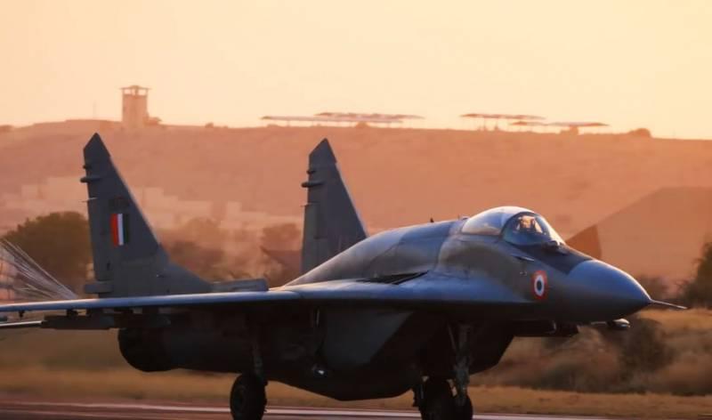 Tiêm kích MiG-29 của Không quân Ấn Độ. Ảnh: Topwar.