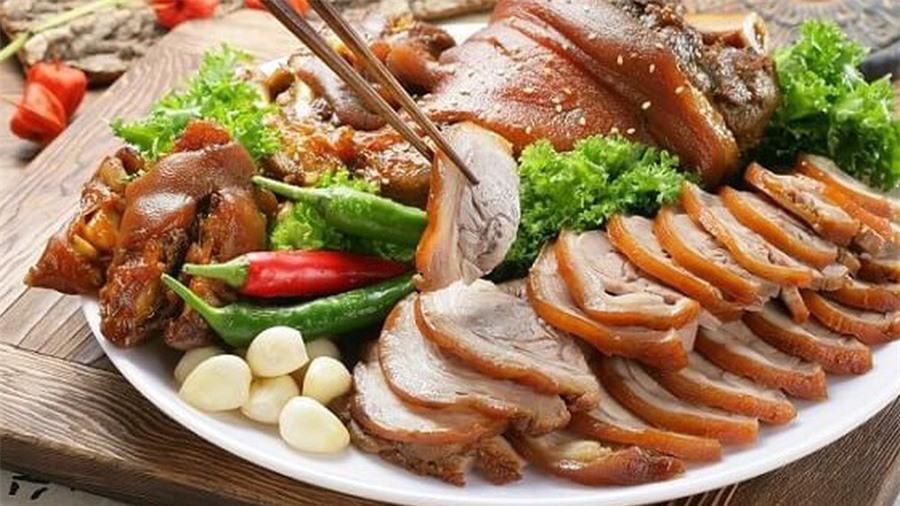 Chân giò nấu kiểu Hàn Quốc ngon