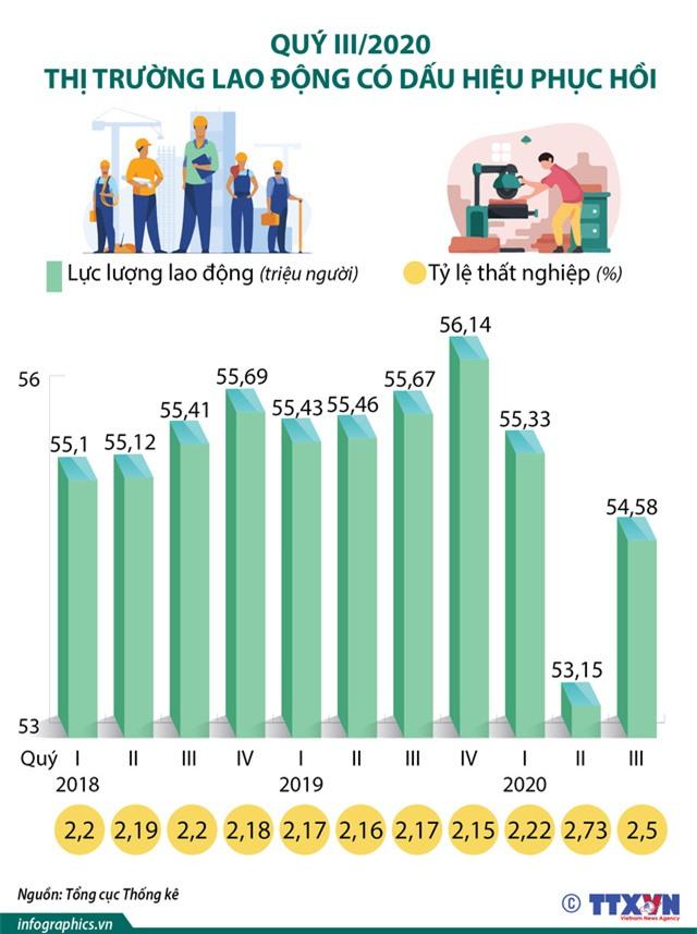 Quý III/2020, thị trường lao động có dấu hiệu phục hồi - Ảnh 1.