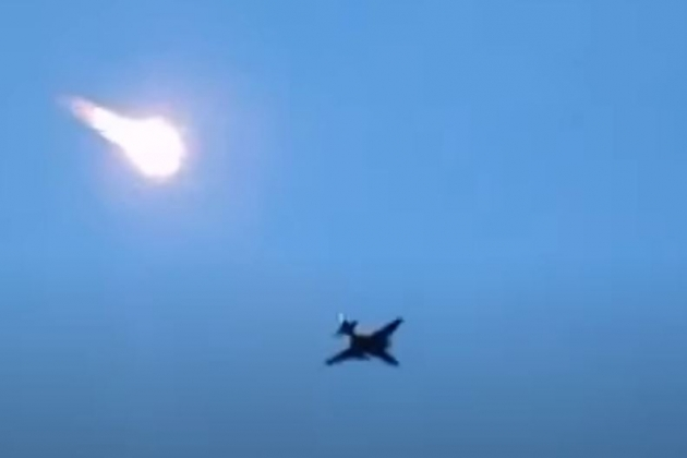 Cường kích Su-25 của Azerbaijan bị cáo buộc đã tấn công Nagorno-Karabakh. Ảnh: Avia-pro.