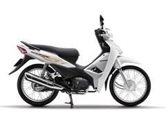 Cận cảnh Honda Wave Alpha 2020 màu trắng đen bạc, giá 17,79 triệu đồng