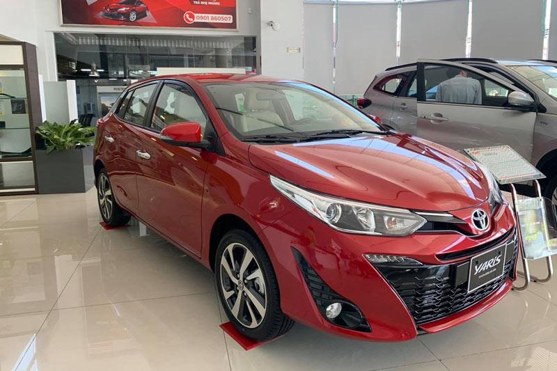 Toyota Yaris 2020.