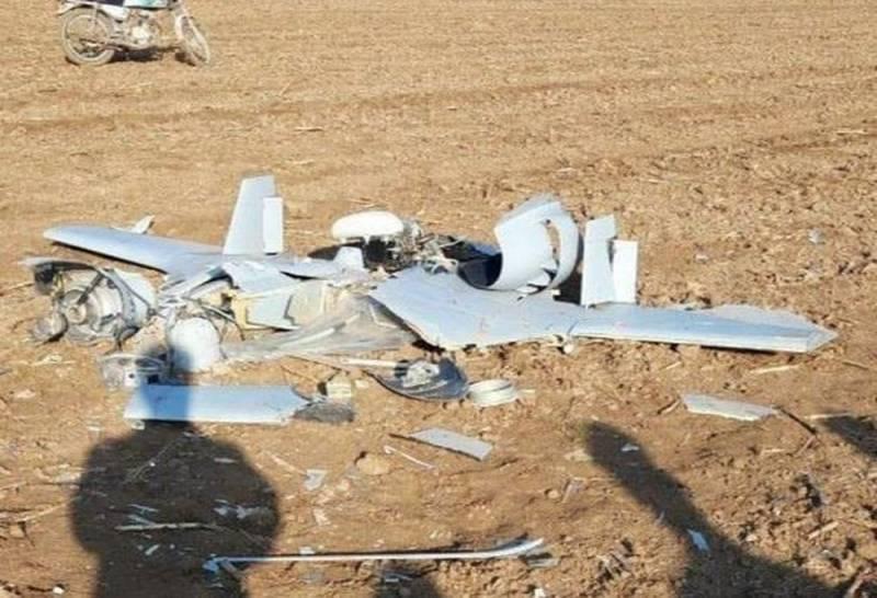 Chiếc máy bay không người lái Harop của Azerbaijan bị phòng không Iran bắn hạ. Ảnh: Topwar.