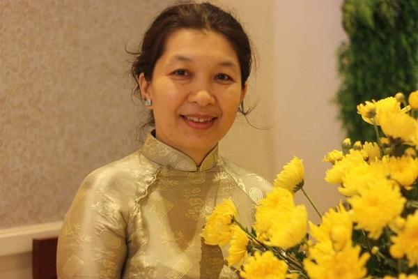 Chị Nguyễn Thị Thanh Thúy, Chủ nhiệm Hội quán các Bà Mẹ.