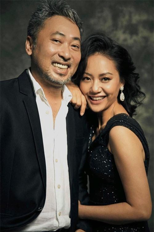 Đạo diễn Nguyễn Quang Dũng và diễn viên - đạo diễn - nhà sản xuất Hồng Ánh.