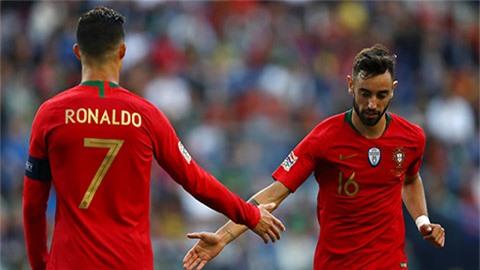 Man United có nguy cơ mất Fernandes vì Ronaldo dính Covid-19