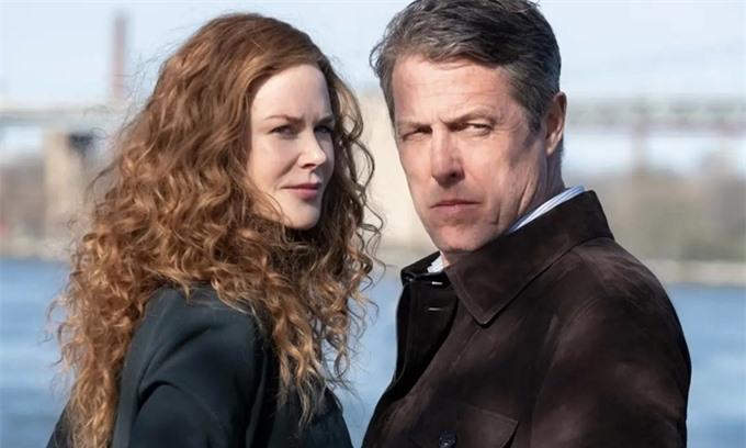Nicole Kidman và Hugh Grant trong phim The Undoing.