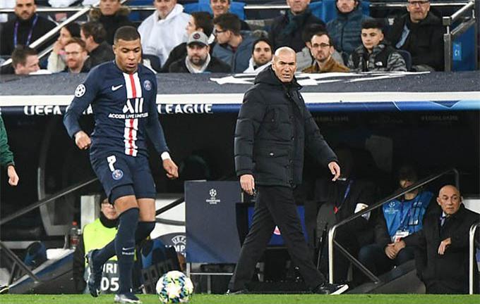 Zidane rất thích Mbappe đến Real