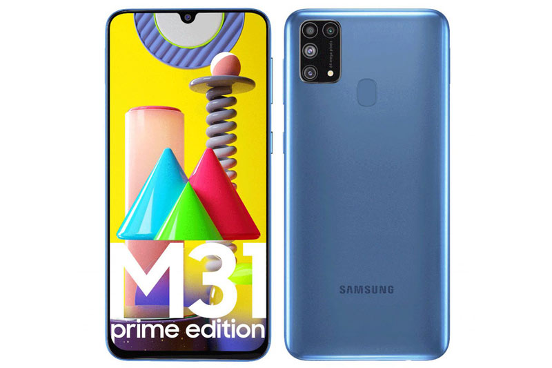 Samsung Galaxy M31 Prime.