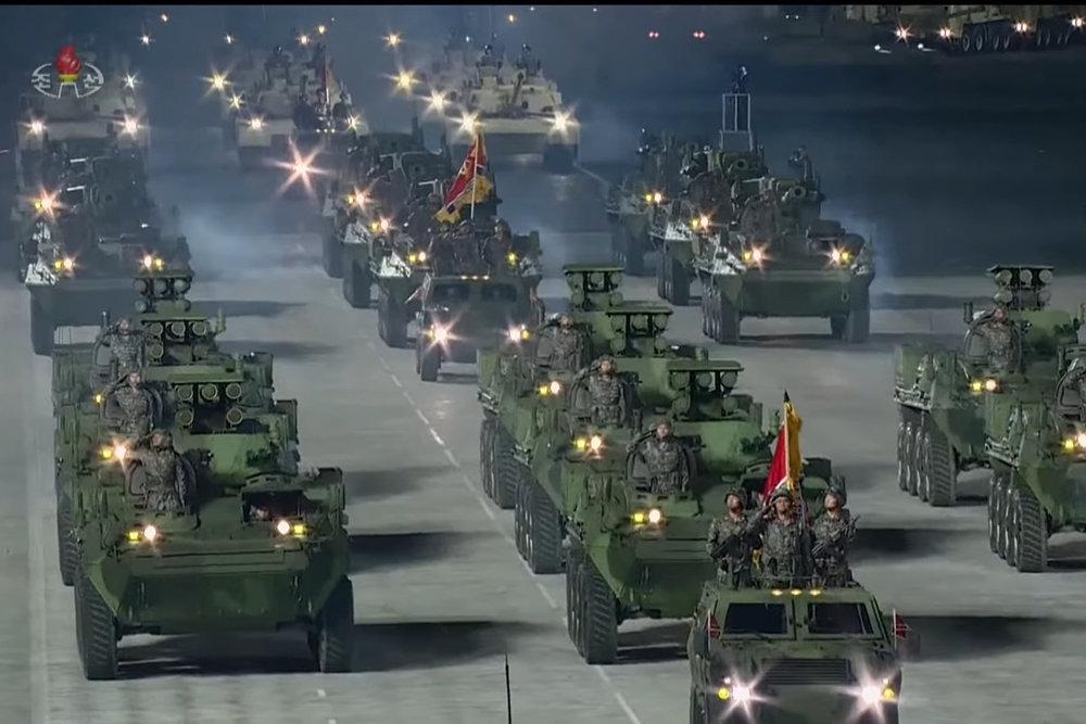 Hệ thống tên lửa chống tăng tự hành thế hệ mới của Triều Tiên. Ảnh: KCNA.