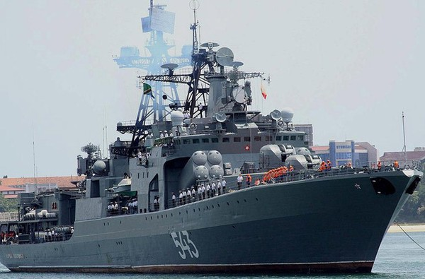 Đô đốc Shaposhnikov, tàu khu trục lớp Udaloy của Hải quân Nga