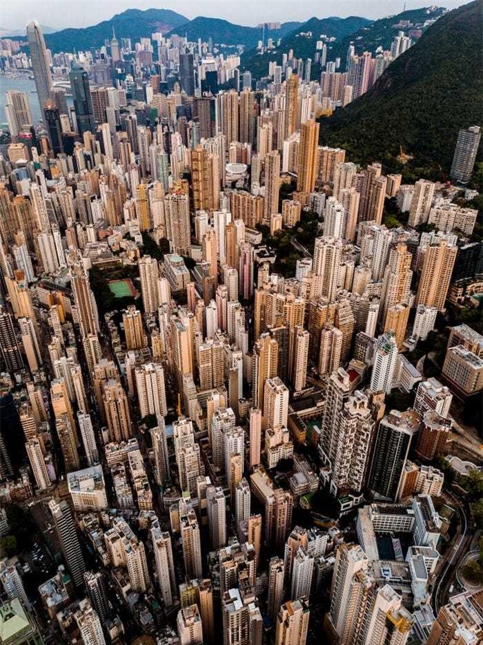 20 bức ảnh thế giới màu sắc đầy mê hoặc nhìn từ trên cao