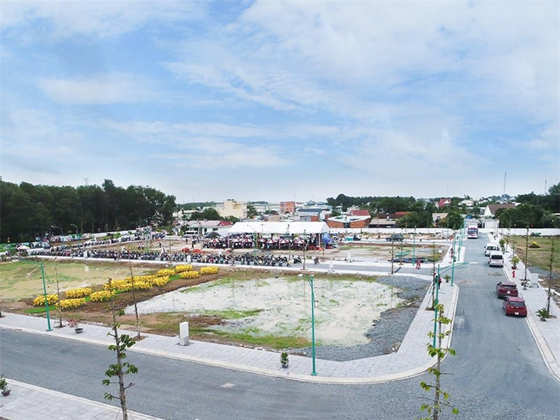 Dự án Khu dân cư Thiên Phúc tại Thuận An tỉnh Bình Dương.