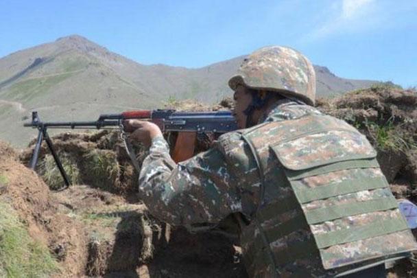 Quân đội Artsakh.