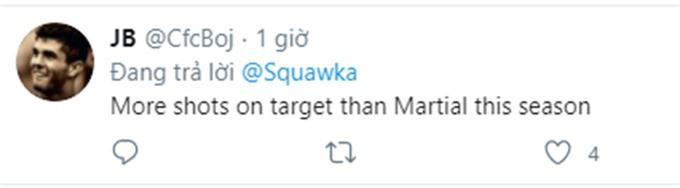 Martial bị troll trên mạng xã hội