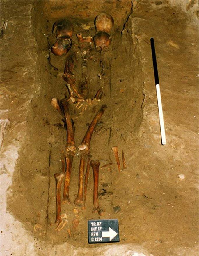 Rùng mình với sự thật về mộ cổ tù trưởng 6 đầu - Ảnh 1.