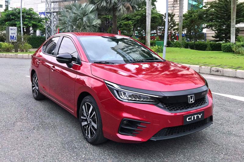 Honda City thế hệ thứ 5.