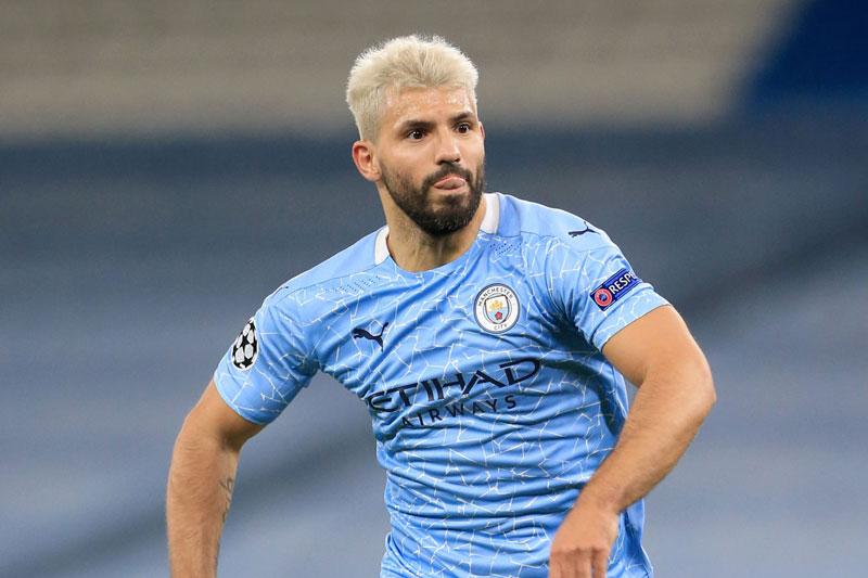 Tiền đạo: Sergio Aguero (Man City).