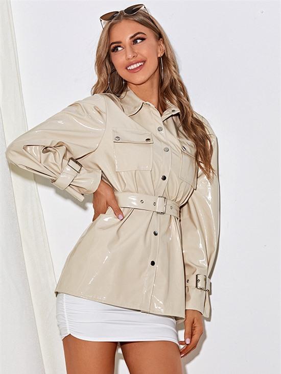 Áo khoác da cho nàng hiện đại - 18